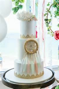 mint coral and gold boho themed christening