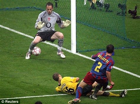 arsenal barcelona 2006 arsene wenger shouldn t look to the history books for hope
