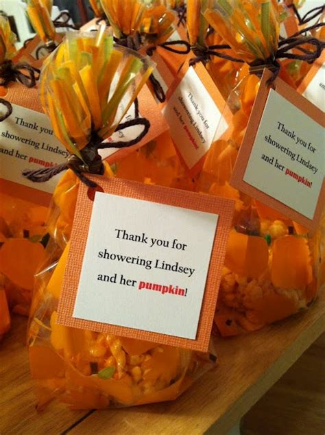 Pumpkin Baby Shower Favors pumpkin favors pumpkin baby shower
