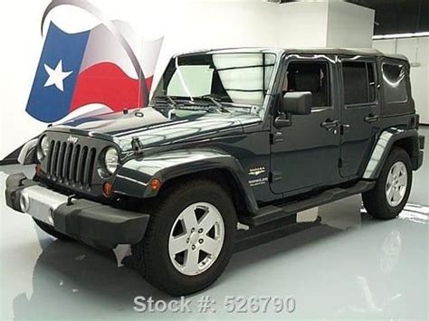 jeep convertible 4 door purchase used 2008 jeep wrangler unltd 4 door