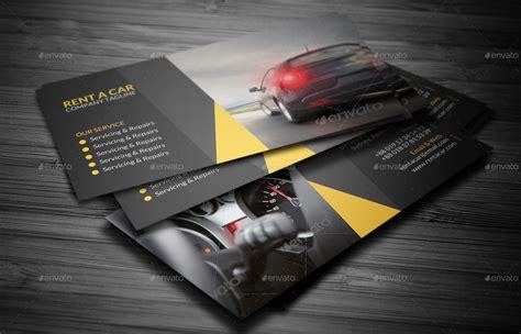 rent  car business card  vejakakstudio graphicriver