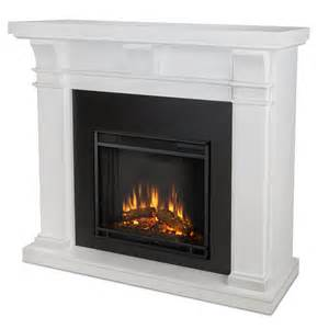 Electric Fireplace Direct - real flame porter electric fireplace in white