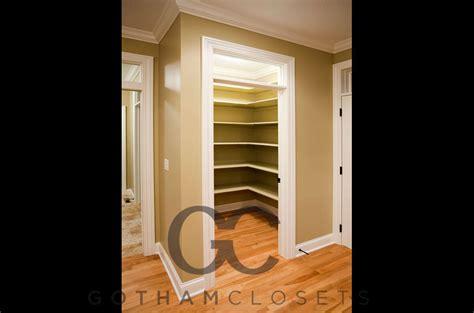Pantry Closet Shelves by Pantry Closet Shelves Gotham Closets