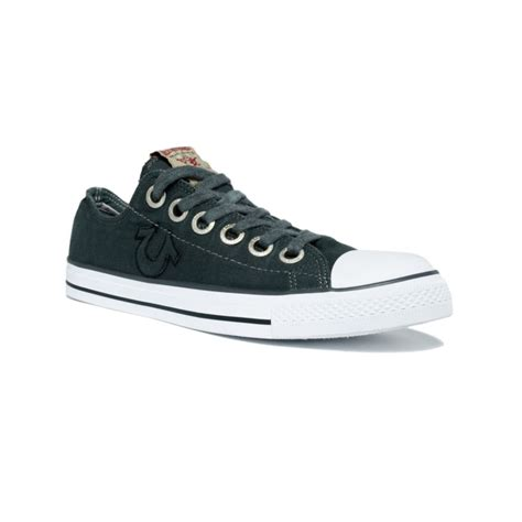 true religion shoes for true religion low sneakers in gray for