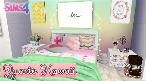 kawaii bedroom pastel kawaii bedroom speed build the sims 4