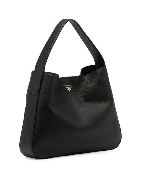Prada Vitello Daino Mini Hobo Purse by Prada Vitello Daino Hobo Imitation Prada