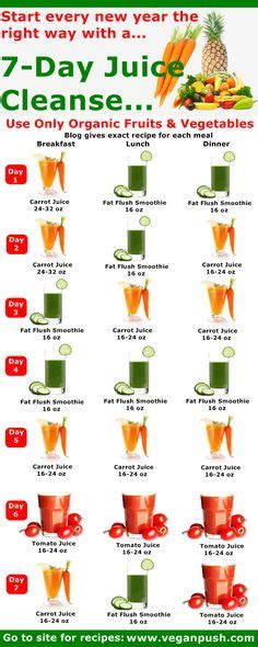 14 Day Juice Detox Diet Plan by 1000 Images About Juicing And Smoothies On