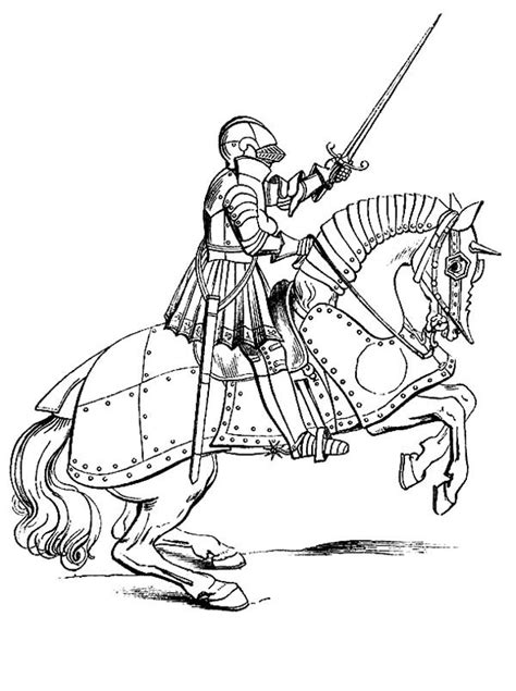 knight face coloring page 91 coloring pages knights on horses real face of a