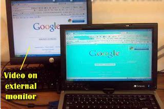 Monitor Eksternal cara analisa dan perbaikan layar lcd laptop yang berubah