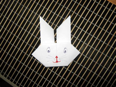 new year origami rabbit how to make origami rabbits heads craft for new