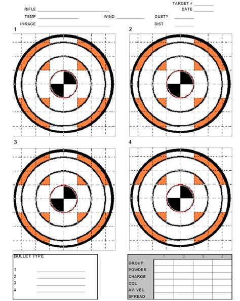 a3 printable shooting targets rifle pistol ranges norco sportsman s club
