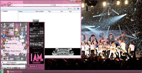 theme for windows 7 kpop my kpop 7