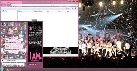 themes kpop for windows 7 my kpop 7