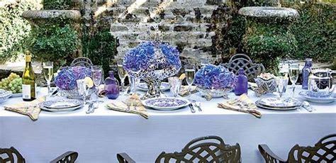 Loza Cardy Blue Silver By Supernova House table settings interior designer in interior decorator casey interiors