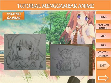 video tutorial menggambar tutorial menggambar anime