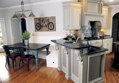 considered grey kitchen cabinets