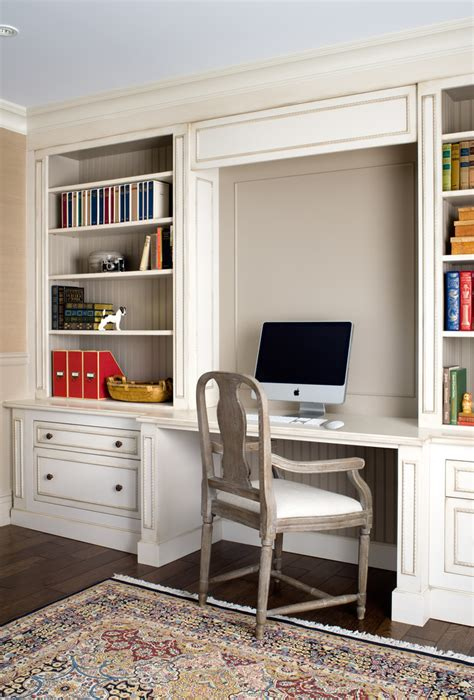 built in office cabinets home theater traditional with