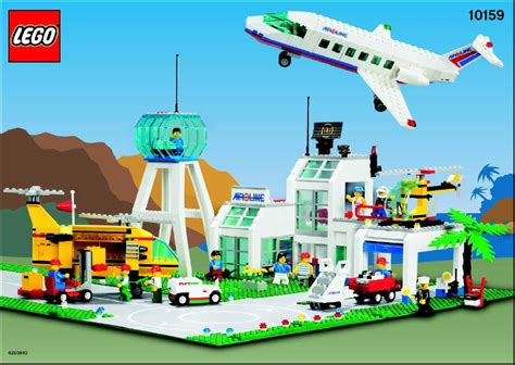 lego airport tutorial city lego city airport instructions 10159 city