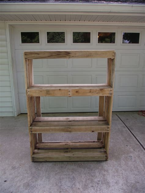 shelves out of pallets storage shelves out of pallets best wood working