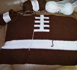 Crochet Football Pillow Pattern by 25 Best Ideas About Football Blanket On Fans Sports Kid Friendly Pillows And