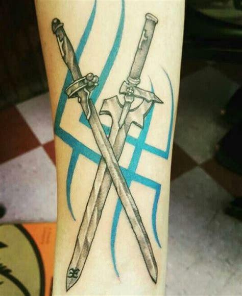 sword art online tattoo 17 best ideas about anime tattoos on miyazaki