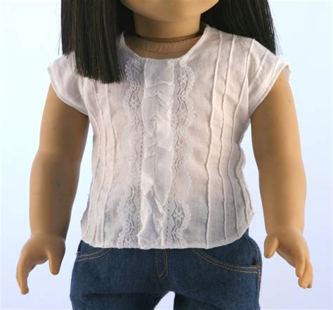 t shirt pattern for american girl doll 54 best not for knits tee shirt pattern images on