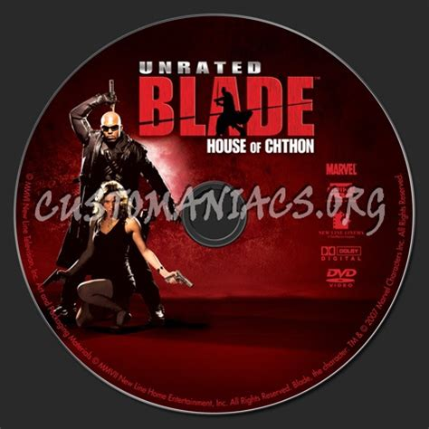 Blade House Of Chthon by Forum Scanned Labels Page 104 Dvd Covers Labels By Customaniacs