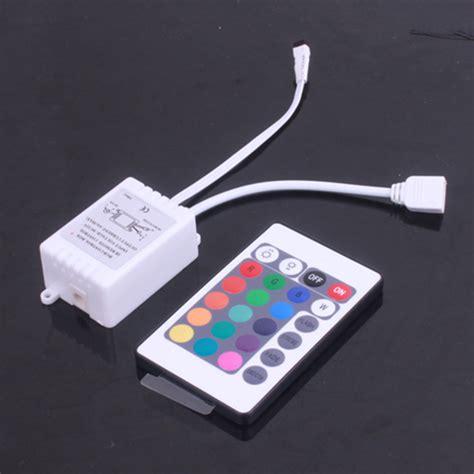 Mini Wifi Controller 24key Ir Remote Lu Led Rgb new mini ir remote 3 10 24 44 key controller for 3528 5050 rgb led light ebay