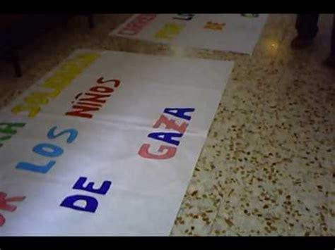 como adornar una pancarta preparando pancartas youtube