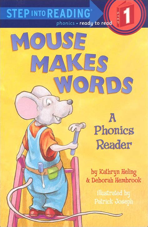 Step Into Reading Step 2 Phonics Reading With Help Silly Mouse Makes Words Phonics Readers Step Into Reading