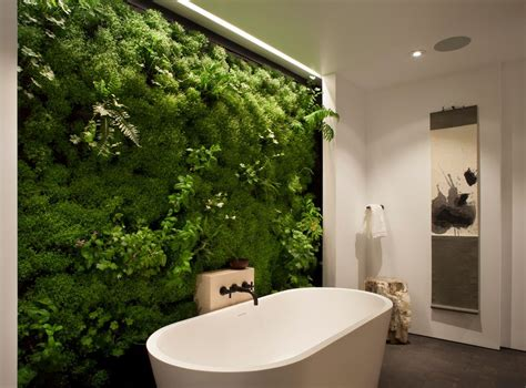 living wall bathroom moss and associates with contemporary bathroom and accent