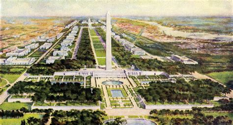 layout of dc mall frederick law olmsted jr symposia landmark society