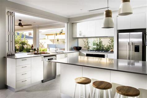 kitchen layout homeone havana display home kitchen photo apg homes perth wa