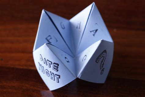 Origami Fortune Teller Ideas - origami fortune teller date eco empire