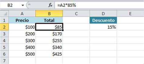 como sacar formato de refrendo c 243 mo calcular porcentajes en excel excel total