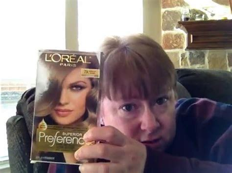 loreal preference medium ash blonde review youtube l oreal paris superior preference 7a dark ash blonde