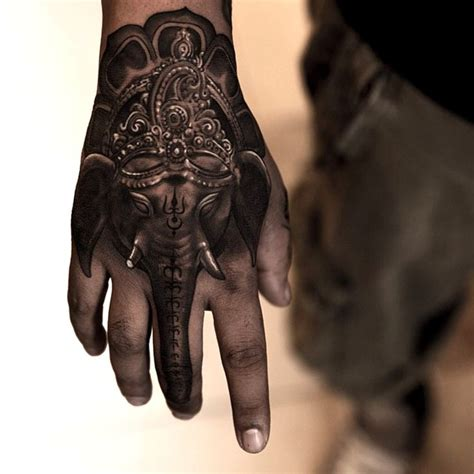 32 elephant tattoos on hands