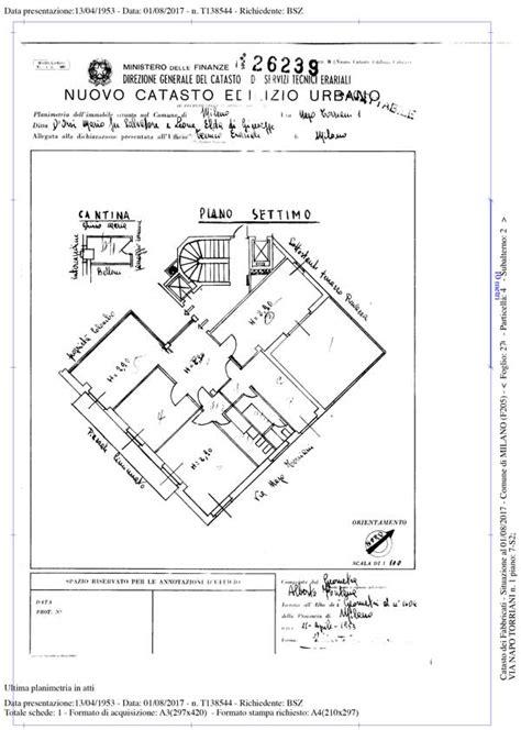 visura catastale appartamento planimetria catastale rasterizzata 7 90 iva inclusa in 1