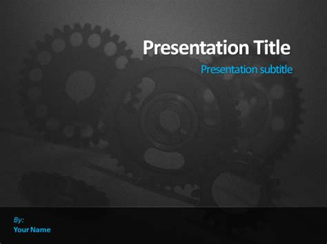 Engineering Themed Powerpoint Templates Dynamic Guru Engineering Powerpoint Templates Free
