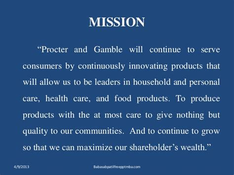 Procter And Gamble Mba Leadership Program by Procter Gamble Marketing Strtergy Mba Ppt Of Marketing