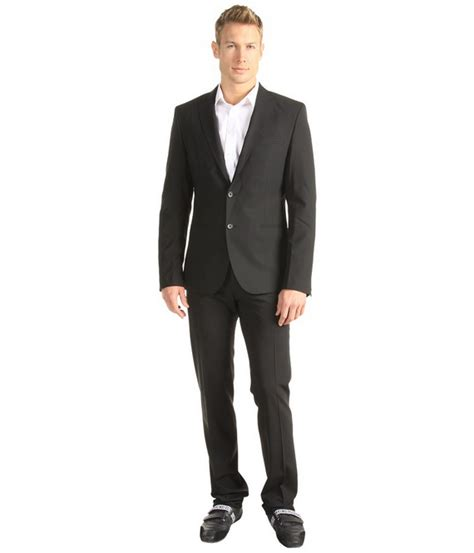 black suits for