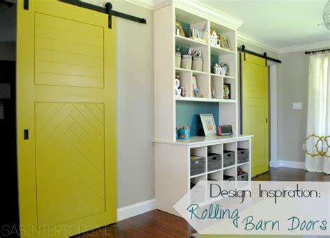 interior rolling barn doors design inspiration rolling barn doors giveaway