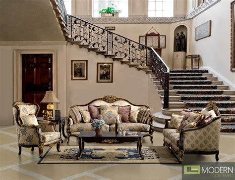 formal luxury living room sets formal luxury sofa and seat traditional living room set zhd385