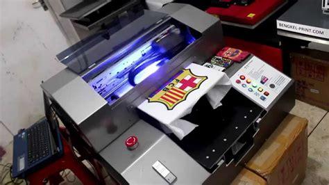 Kaos Tshirt Maker printing kaos menggunakan printer uv t shirt printing
