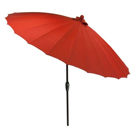 8 ft patio umbrella sunjoy henry 8 ft aluminum cantilever patio umbrella in beige 110211006 the home depot