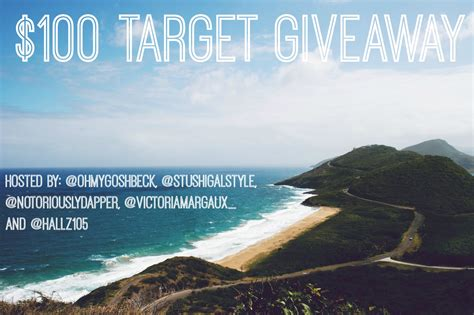 Target Giveaway - 100 target gift card giveaway