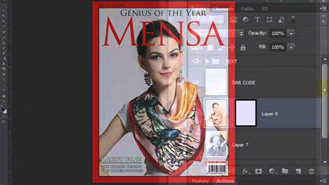 cover design editor 5 photoshop how to make a custom magazine cover from a