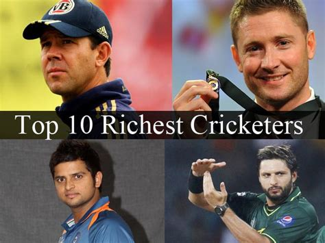 top 10 richest cricketers in the world in 2014
