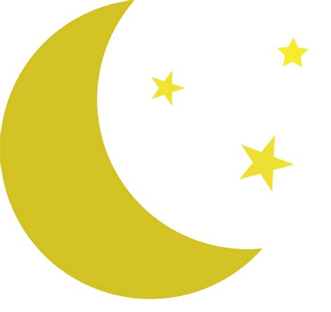 clipart moon yellow moon clipart clipart panda free clipart images