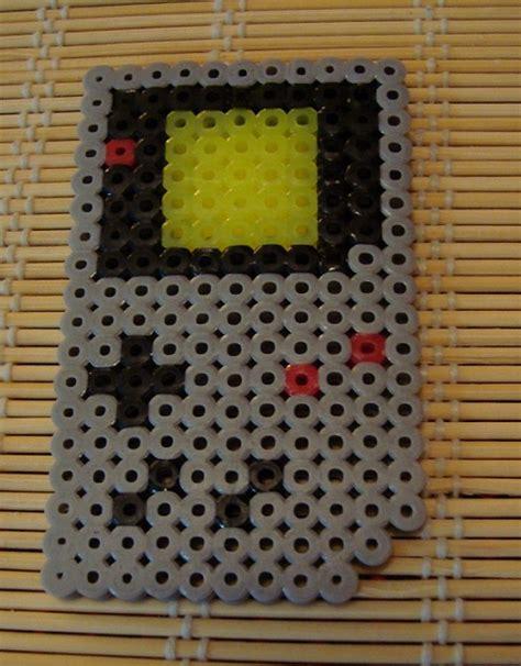 Gameboy Pattern perler bead gameboy by kitunae on deviantart